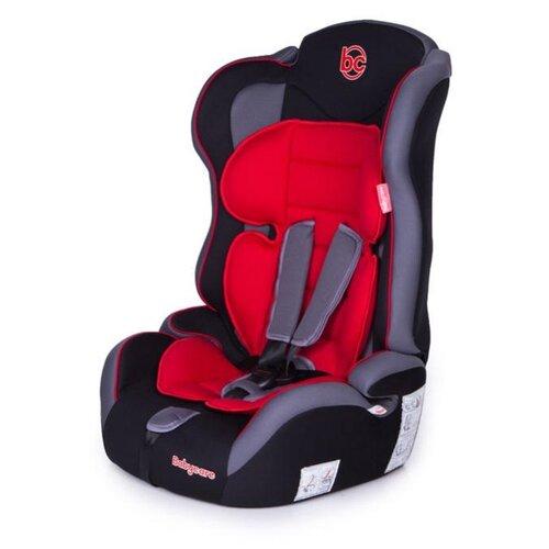 Автокресло группа 1/2/3 (9-36 кг) Baby Care Upiter Plus, черный/красный автокресло группа 1 2 3 9 36 кг little car ally с перфорацией черный