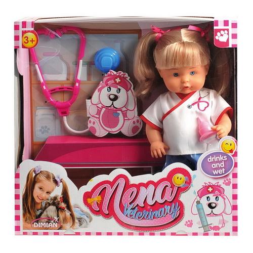 Кукла Dimian Baby Nena Ветеринар, 36 см, BD382 nena gießen