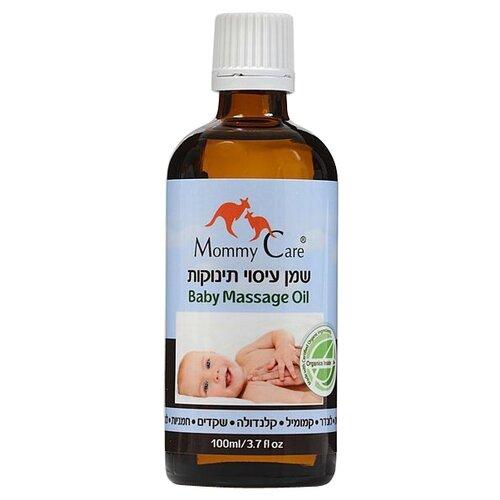 Mommy Care Органическое детское массажное масло, 100 мл puressentiel органическое массажное масло отдохнуть и расслабиться 100 мл puressentiel хорошее самочувствие