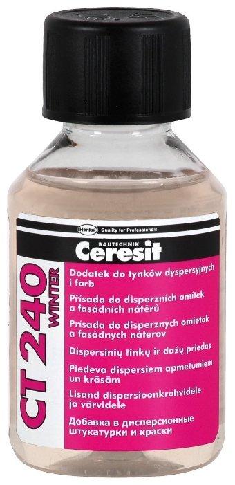 Добавка отвердитель Ceresit CT 240 «ЗИМА» 0.1 л