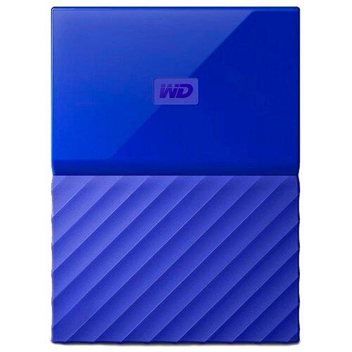 Внешний HDD Western Digital My Passport 2 ТБ синий