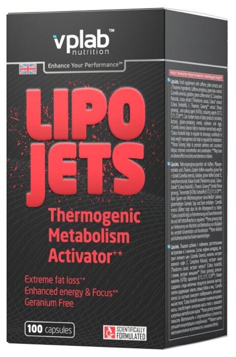 Vplab термогеник LipoJets (100 шт.)