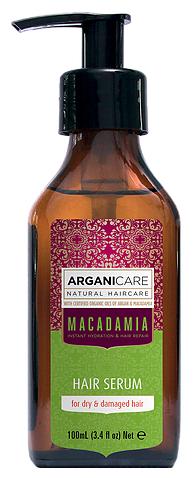 ARGANICARE Argan Oil & Macadamia Сыворотка для волос с маслом макадамии