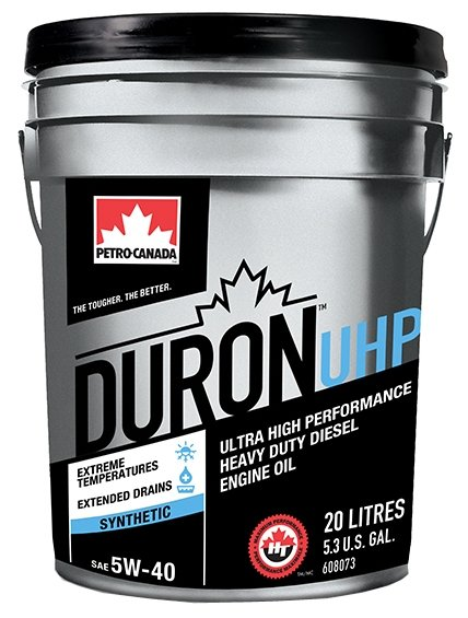 Моторное масло Petro-Canada Duron UHP 5W-40 20 л