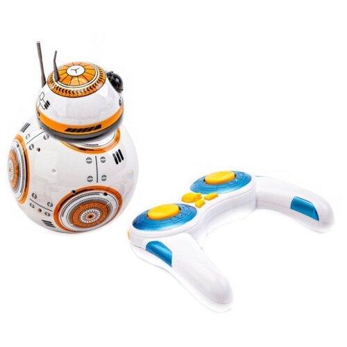 Робот BRADEX Звездный воин бело-оранжевый