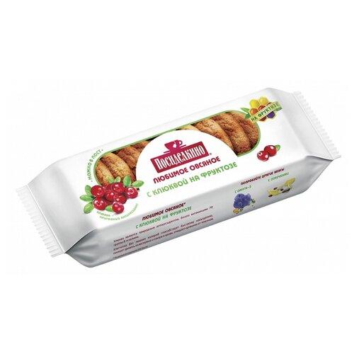 Печенье Посиделкино овсяное с клюквой на фруктозе, 300 г печенье посиделкино овсяное на мальтите со стевией и ягодами 170 г