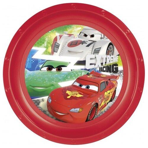 Stor Тарелка Тачки Грани гонок 23 см красный