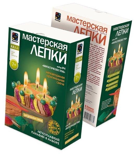 Фантазёр Мастерская лепки Глиняная свеча