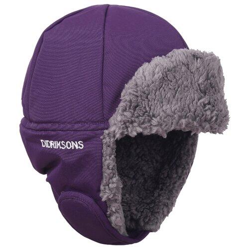 Купить Шапка-ушанка Didriksons размер 52, фиолетовый, Головные уборы