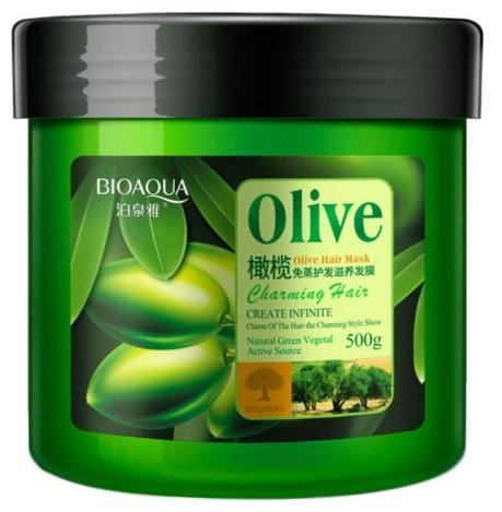 BioAqua Маска для волос с маслом оливы