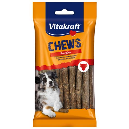 Лакомство для собак Vitakraft CHEWS Kaurollen колбаски натуральные, 25 шт. в уп.Лакомства для собак<br>