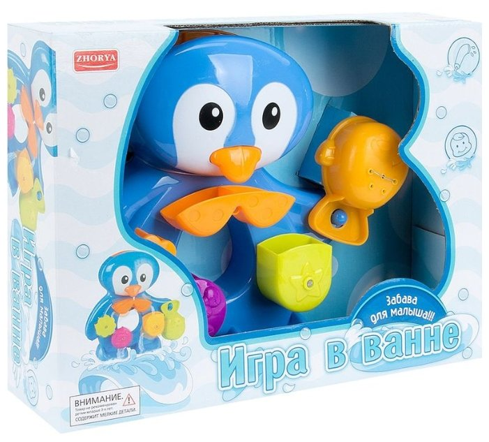 Игрушка для ванной Zhorya Пингвин (ZYC-0296)
