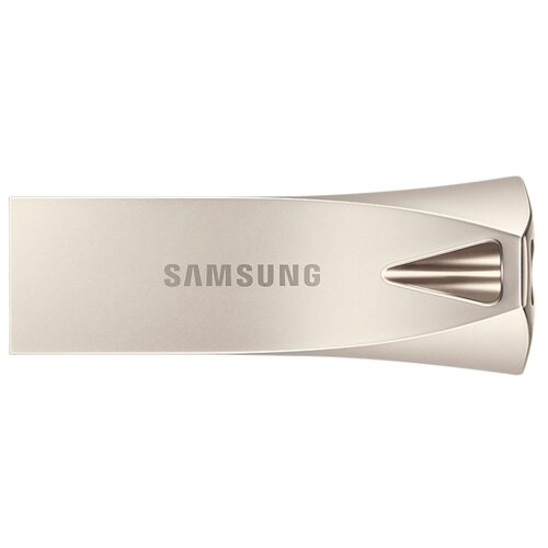 Флешка Samsung BAR Plus 64GB серебряное шампанскоеUSB Flash drive<br>