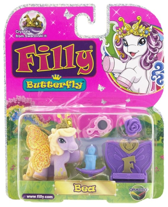 Игровой набор Filly Butterfly Glitter Беа M770138-3850