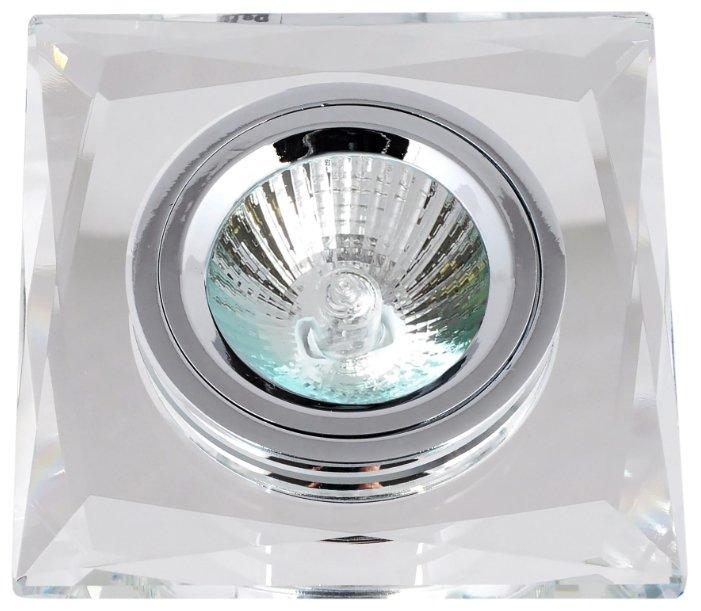 Встраиваемый светильник De Fran FT 848-2 c, прозрачное стекло