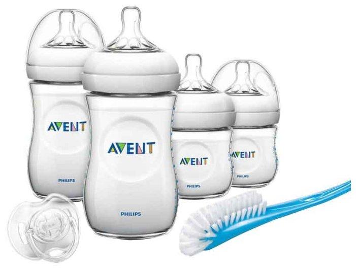 Philips AVENT Набор для кормления новорождённых Natural SCD290/01 (6 предметов) с рождения