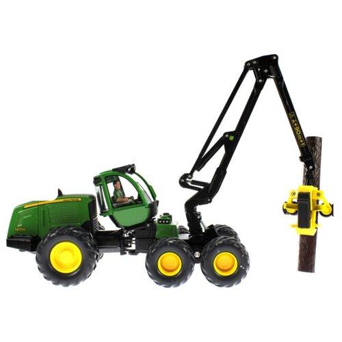 Купить Комбайн Siku Харвестер John Deere (4059) 1:32 зеленый, Машинки и техника