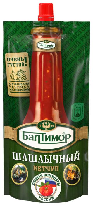 Кетчуп Балтимор Шашлычный с кусочками чеснока и специями