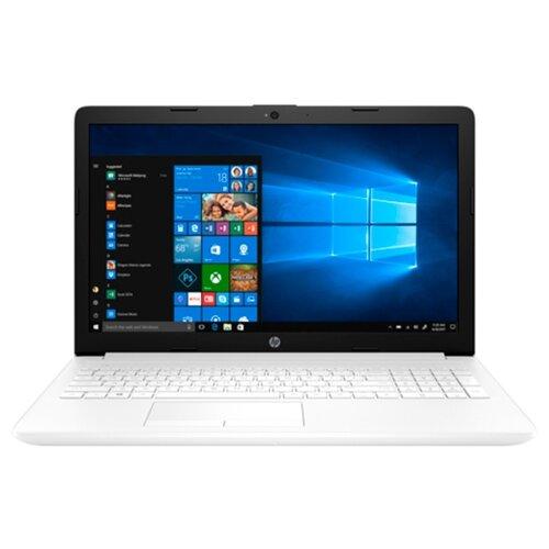 Ноутбук HP 15-db0128ur (AMD Ryzen 3 2200U 2500 MHz/15.6/1920x1080/4GB/256GB SSD/DVD нет/AMD Radeon Vega 3/Wi-Fi/Bluetooth/Windows 10 Home) белыйНоутбуки<br>