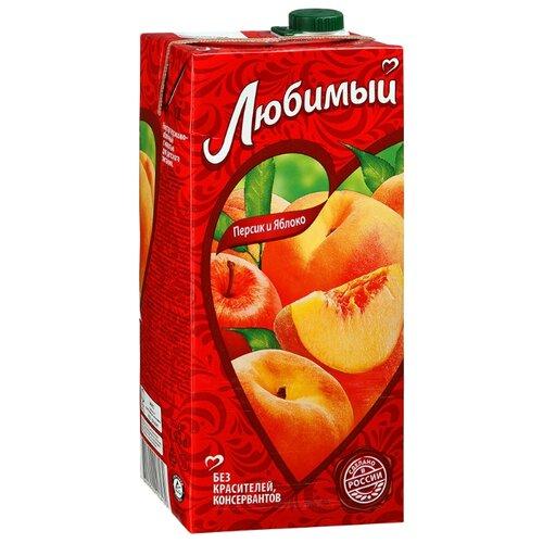 Нектар Любимый Яблоко-Персик-Нектарин с крышкой, 1.93 лСоки, нектары, морсы<br>