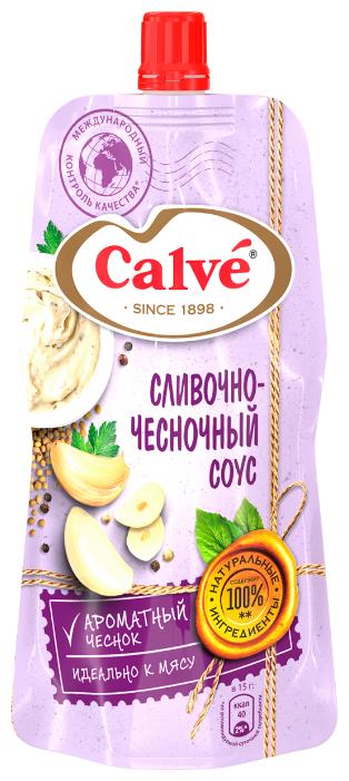 Соус Calve Сливочно-чесночный, 230 г