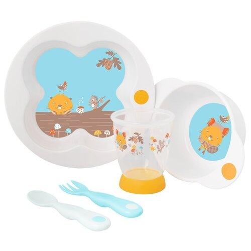 Комплект посуды Bebe confort Woodcamp (3105205200) белый
