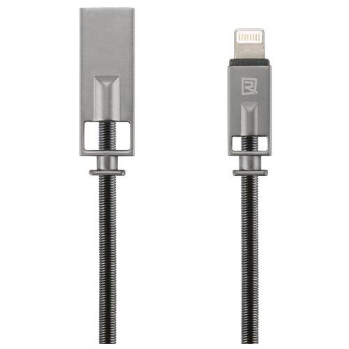 Кабель Remax Royalty USB - Apple Lightning (RC-056i) 1 м черныйКомпьютерные кабели, разъемы, переходники<br>