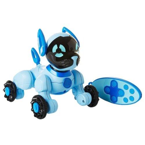 Купить Интерактивная игрушка робот WowWee Chippies голубой, Роботы и трансформеры