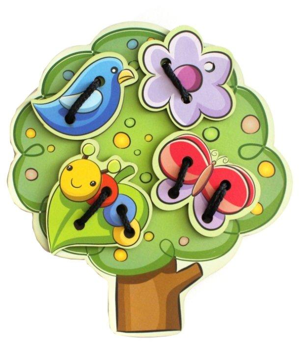 Шнуровка Мастер игрушек Дерево (IG0072)