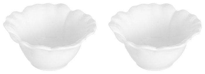 Elan gallery Блюдо сервировочное Цветок 140 мл, 2 шт.