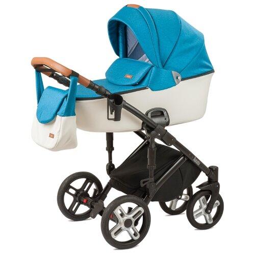Купить Универсальная коляска Nuovita Carro Sport (2 в 1) blu bianco, Коляски