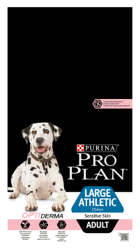 Корм для собак Purina Pro Plan Large Athletic Adult canine Sensitive Skin Salmon with Rice dry