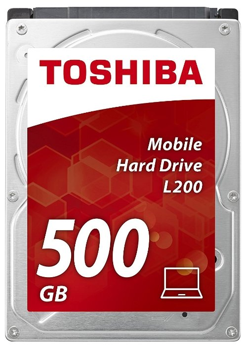 Жесткий диск Toshiba sata-iii 500gb hdwj105uzsva l200 (5400rpm) 8mb 2.5