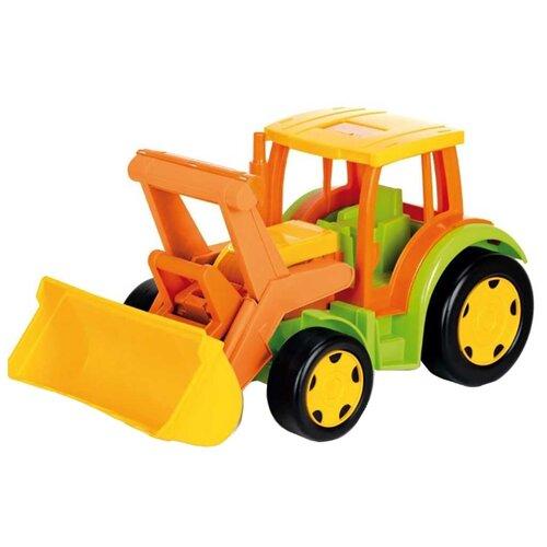 Трактор Wader Гигант (66005) 60 см зеленый/оранжевый/желтыйМашинки и техника<br>
