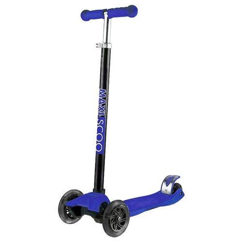 Кикборд Maxiscoo Junior синий кикборд maxiscoo junior черный