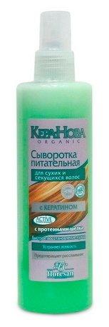 Floresan КЕРА-НОВА Сыворотка питательная для сухих и секущихся волос, несмываемая