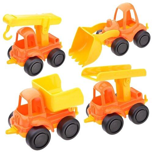 Набор техники Нордпласт Нордик из четырех моделей (221) оранжевый/желтый