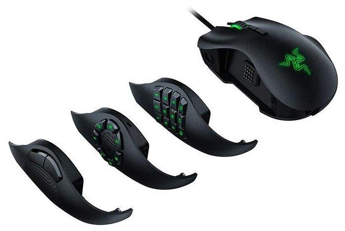 Мышь Razer Naga Trinity Black USB