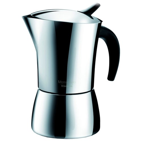 Кофеварка Tescoma Monte Carlo на 6 чашек стальнойТурки, кофеварки, кофемолки<br>