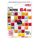 Карта памяти Mirex microSDXC Class 10 UHS-I U1
