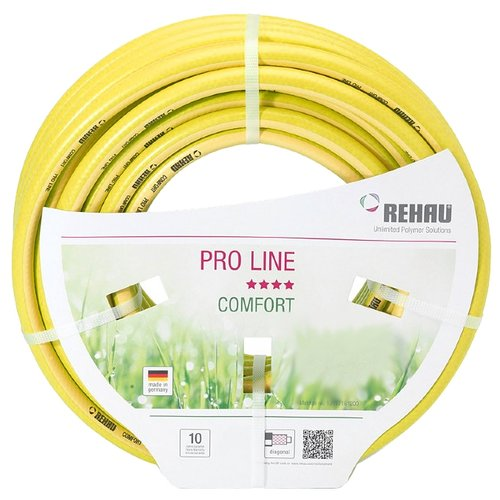 Шланг REHAU PRO LINE 1/2 50 метров желтый шланг rehau slide line 1 2 50