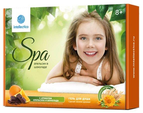 Intellectico День SPA Гель для душа Апельсин в шоколаде