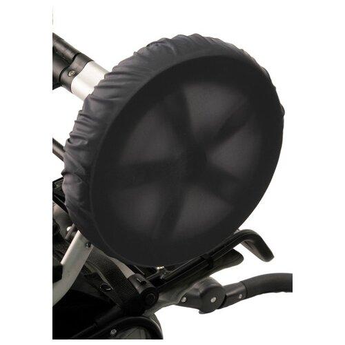 Чудо-Чадо Чехлы на колеса коляски CHK04 2 шт мокрый асфальт муфта для рук на коляску чудо чадо классика мкм21 000 сиреневый