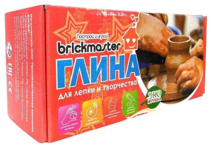 Натуральная глина Brickmaster 002, 1000 г