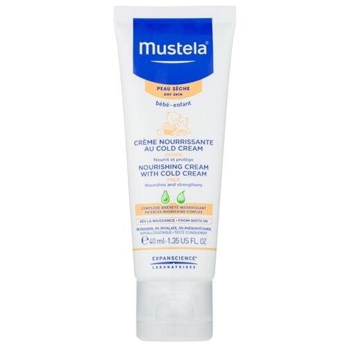 Mustela Питательный крем для лица с кольд-кремом, 40 мл мыло с колд кремом авен