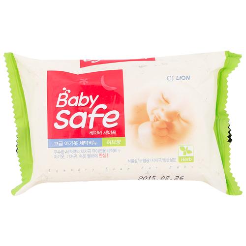 Хозяйственное мыло CJ Lion Baby Safe с экстрактом восточных трав, 190 г 98% 0.19 кг