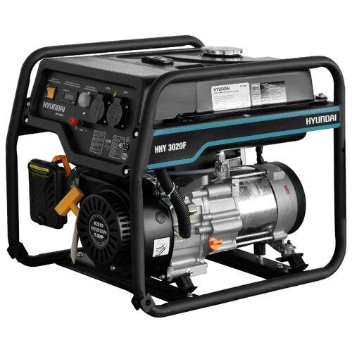Бензиновый генератор Hyundai HHY 3020F (2800 Вт) бензиновый генератор hyundai hhy 5020fe 230 в 4 5квт
