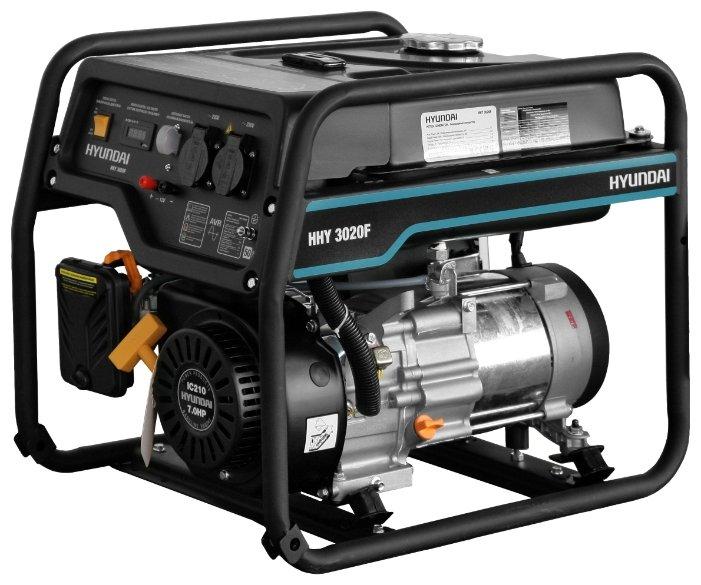 Бензиновый генератор Hyundai HHY 3020F (2800 Вт)