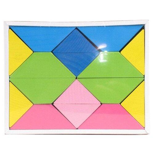Купить Кубики Томик Цветные треугольники 6677, Детские кубики