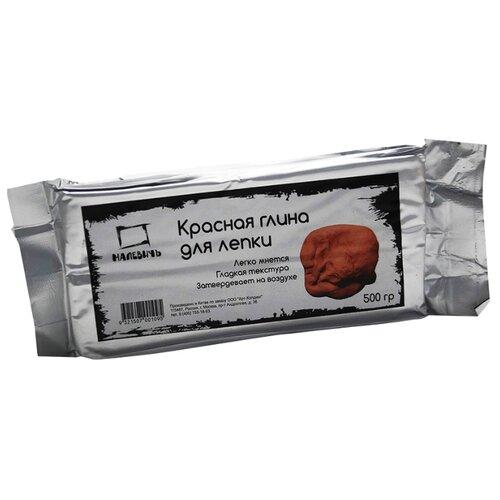 Полимерная глина Малевичъ красная 500 г (810001)Глина<br>